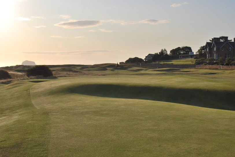 North Berwick Double Plateau Green