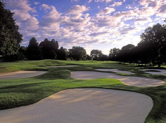 Baltusrol GC Lower #17 Sahara Bunker