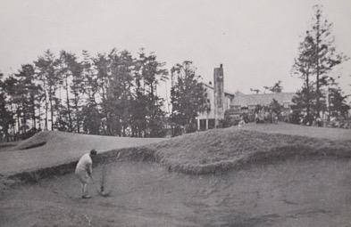 *旧藤沢CC 18番 1938年日本オープンにて