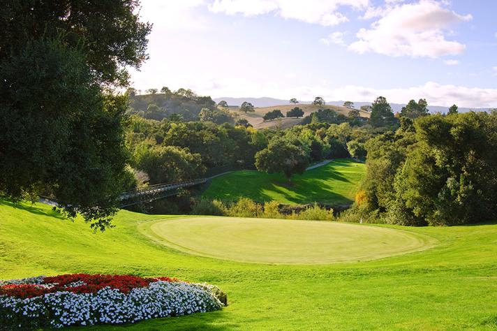 * Stanford University Golf Course #14  197ヤードPar3