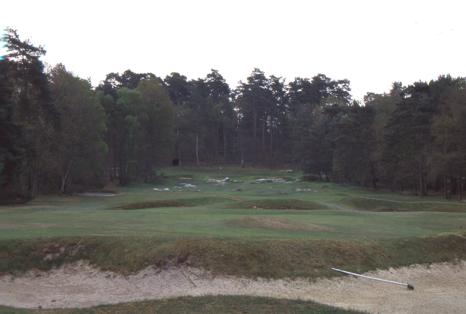 Golf de Fontainebleau 設計 Tom Simpson, Jones Sr.