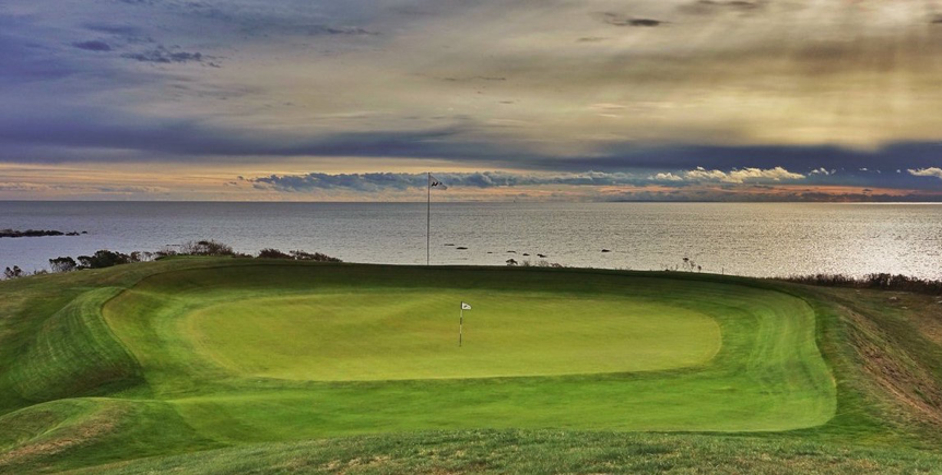 *Fishers Island Punchbowl green