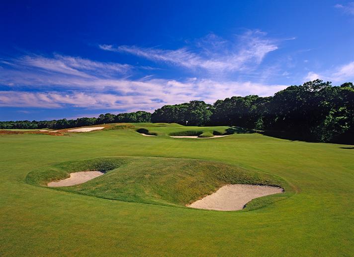 ナショナルゴルフリンクスオブアメリカ 8番