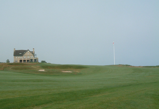 National Golf Links of America 18番 Home